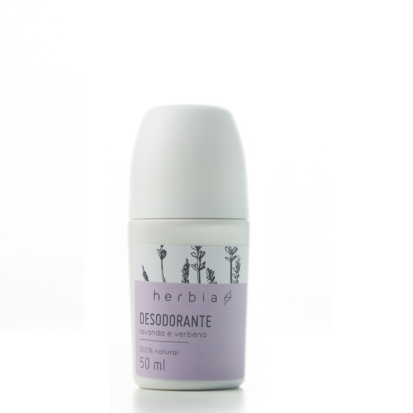 Desodorante Roll-On Lavanda e Verbena
